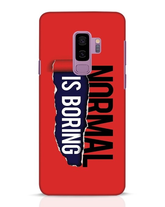 Shop Boring Normal Samsung Galaxy S9 Plus Mobile Cover-Front