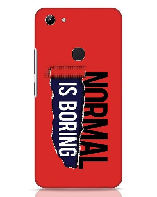Shop Boring Normal Vivo Y81 Mobile Cover-Front