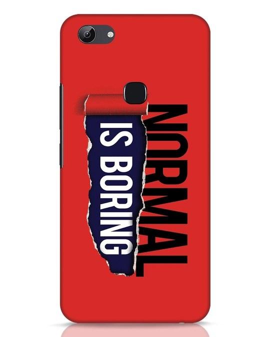 Shop Boring Normal Vivo Y83 Mobile Cover-Front
