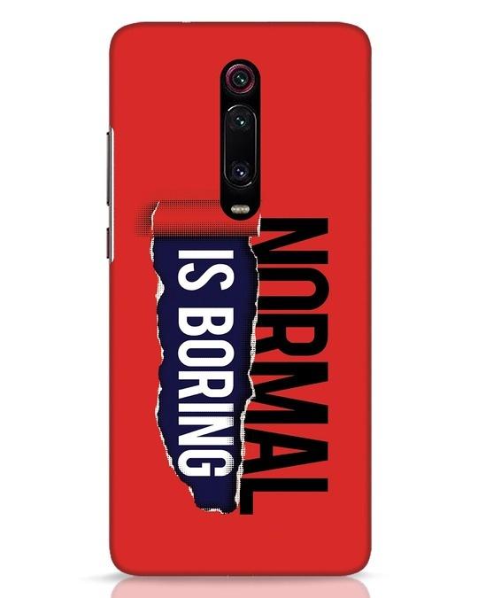 Shop Boring Normal Xiaomi Redmi K20 Mobile Cover-Front
