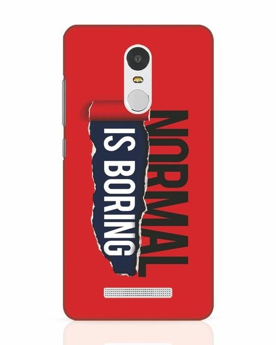 Shop Boring Normal Xiaomi Redmi Note 3 Mobile Cover-Front