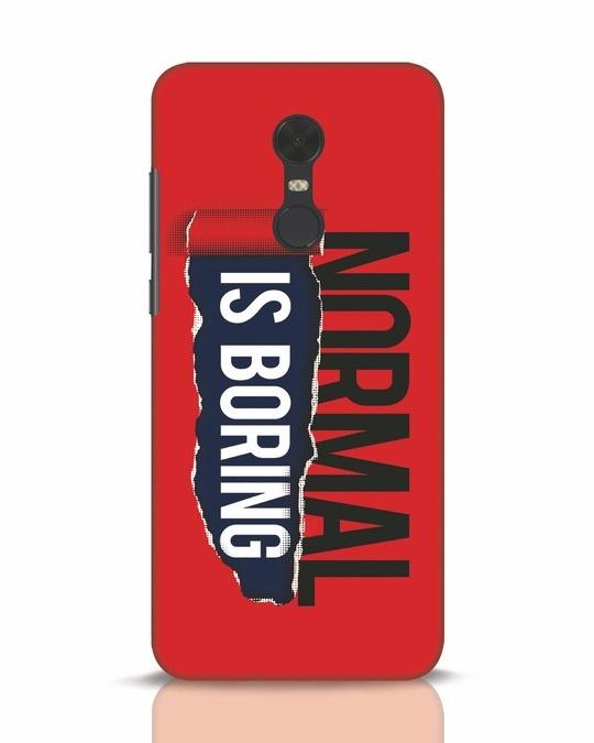 Shop Boring Normal Xiaomi Redmi Note 5 Mobile Cover-Front