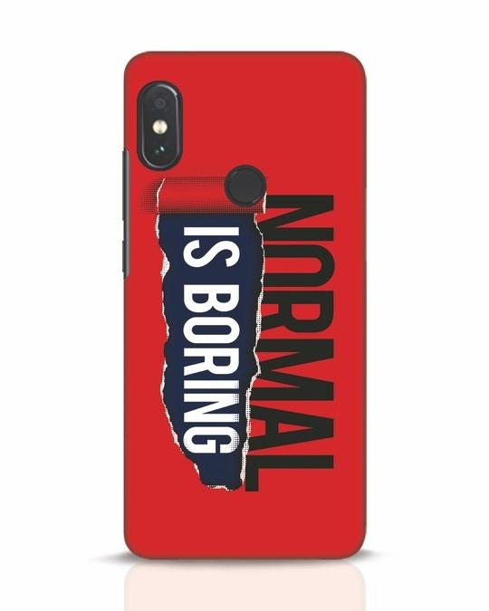 Shop Boring Normal Xiaomi Redmi Note 5 Pro Mobile Cover-Front