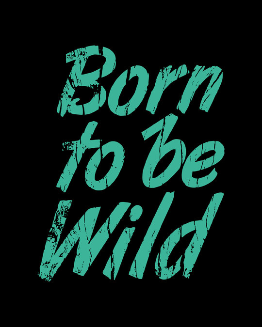 Shop Born To Be Wild Boyfriend T-Shirt