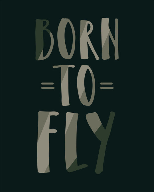 Shop Born To Fly Boyfriend T-Shirt