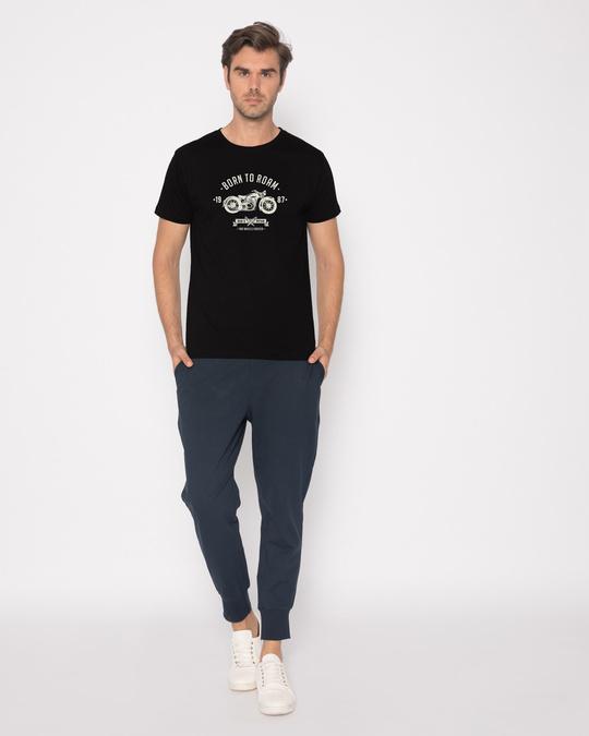 Shop Born To Roam Half Sleeve T-Shirt