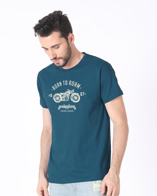 Shop Born To Roam Half Sleeve T-Shirt-Full