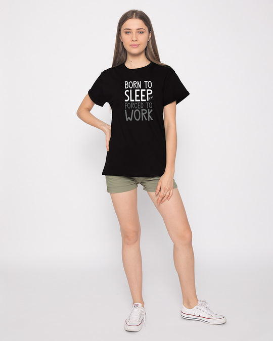 Shop Born To Sleep Boyfriend T-Shirt