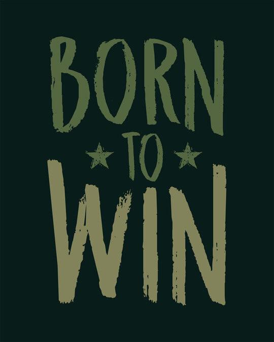 Shop Born To Win Boyfriend T-Shirt