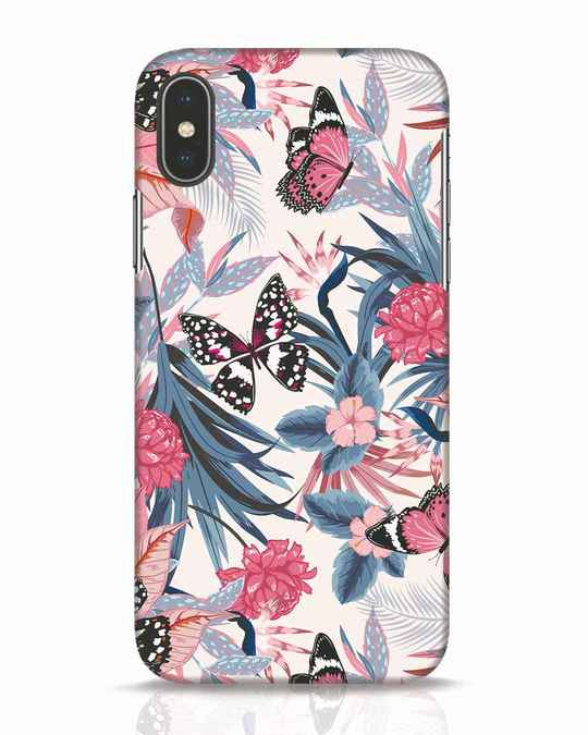Shop Botany iPhone X Mobile Cover-Front
