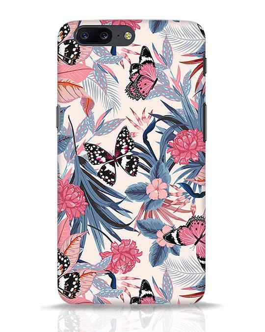 Shop Botany OnePlus 5 Mobile Cover-Front