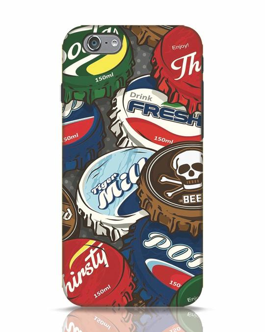 Shop Bottlecaps iPhone 6 Mobile Cover-Front