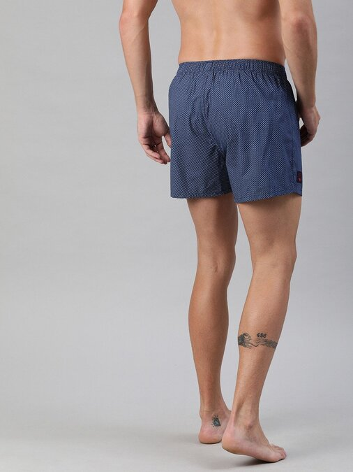 Shop Boxers Woven Men's Printed ( Pack Of 2 )-Full