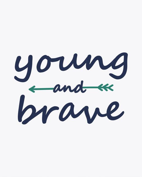 Shop Brave And Young Boyfriend T-Shirt
