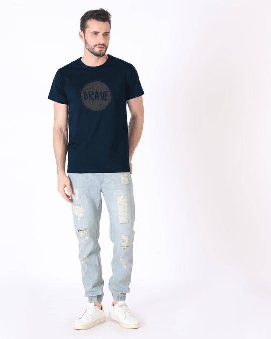 Shop Brave Half Sleeve T-Shirt
