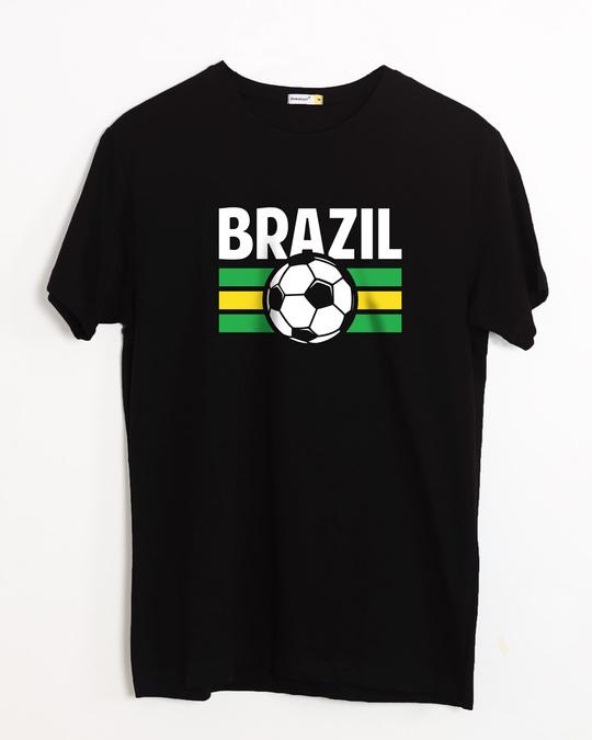Shop Brazil Half Sleeve T-Shirt-Front