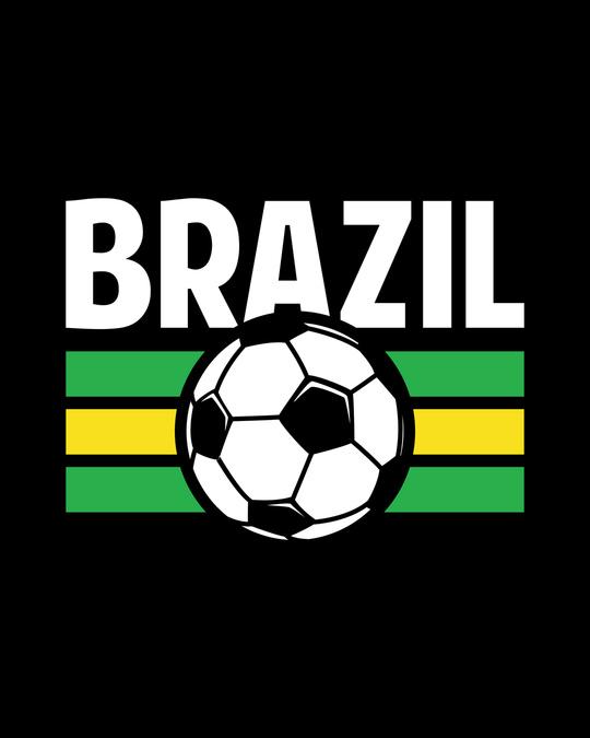 Shop Brazil Half Sleeve T-Shirt