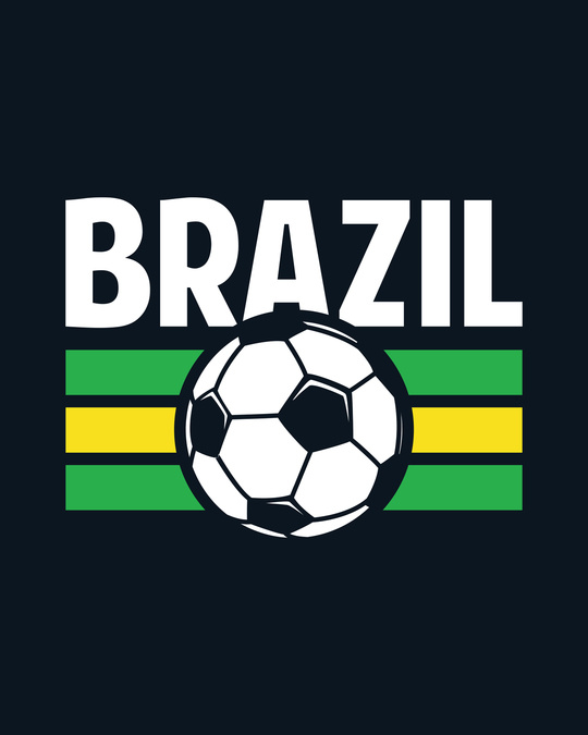 Shop Brazil Half Sleeve T-Shirt