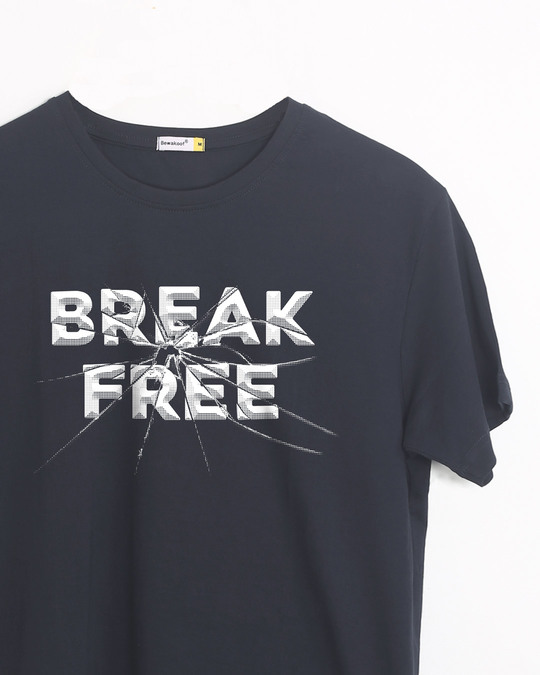 Shop Break Free Half Sleeve T-Shirt-Front