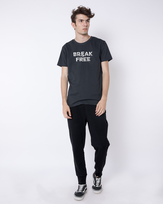 Shop Break Free Half Sleeve T-Shirt