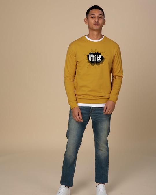 Shop Break Them Crew Neck Sweatshirt