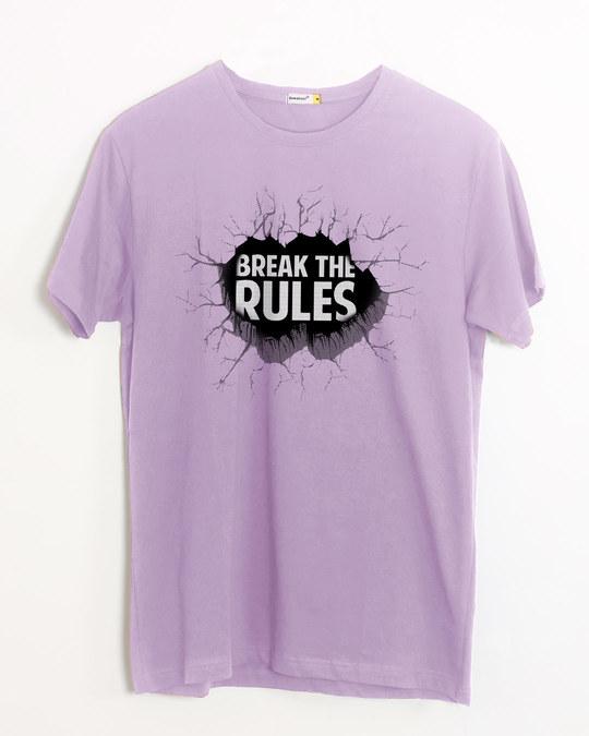 Shop Break Them Half Sleeve T-Shirt-Front