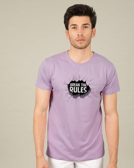 Shop Break Them Half Sleeve T-Shirt-Back