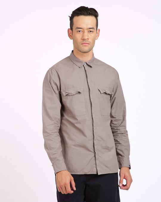 Shop Men Regular Fit Shirt-Front