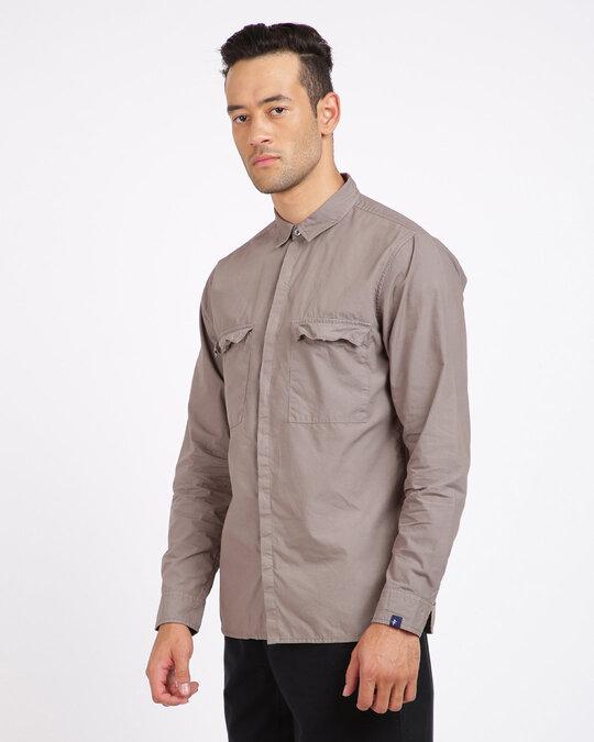Shop Men Regular Fit Shirt-Design