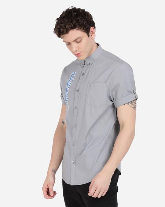 Shop Men Slim Fit Shirt-Back