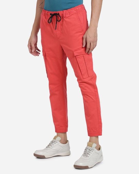 Shop Men Solid Casual Joggers-Design