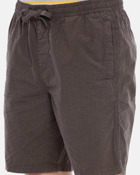 Shop Men Solid Casual Shorts-Full