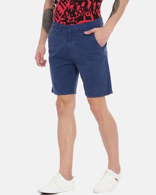 Shop Men Solid Casual Shorts-Design