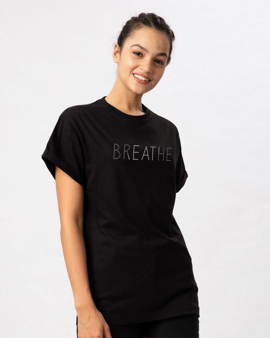 Shop Breathe Boyfriend T-Shirt-Full
