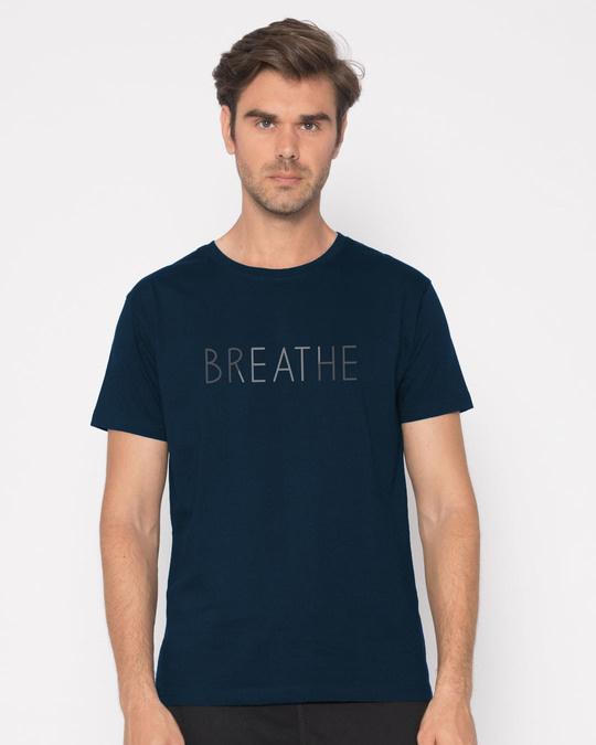 Shop Breathe Half Sleeve T-Shirt-Back