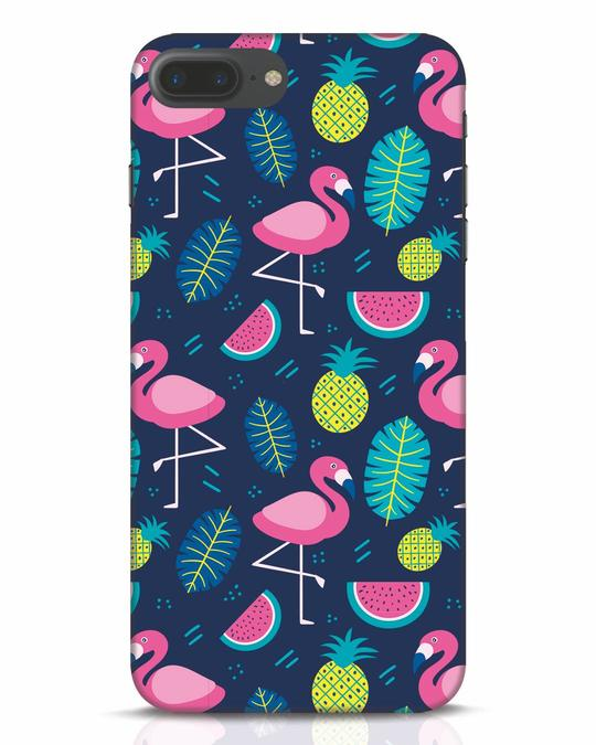 Shop Bright Flamingo iPhone 7 Plus Mobile Cover-Front