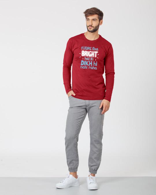 Shop Bright Future Full Sleeve T-Shirt-Full