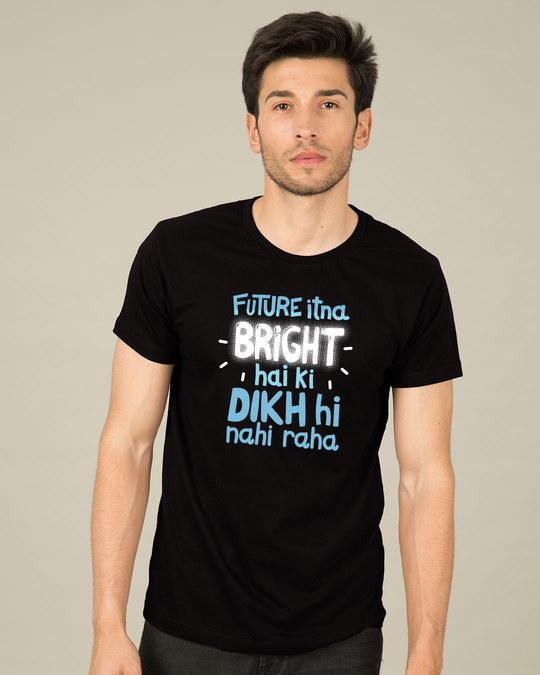 Shop Bright Future Half Sleeve T-Shirt-Back