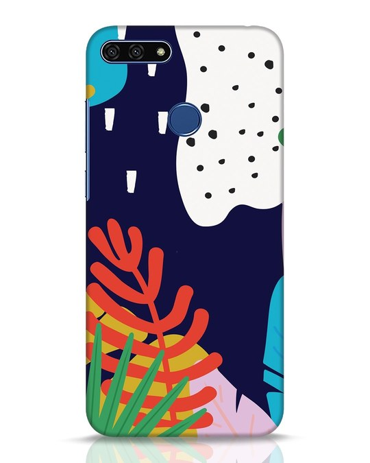 Shop Bright Tropics Huawei Honor 7A Mobile Cover-Front