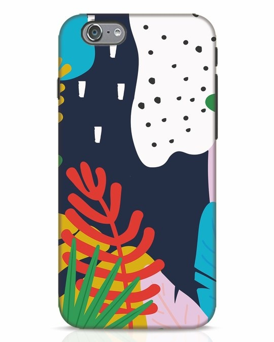 Shop Bright Tropics iPhone 6s Mobile Cover-Front