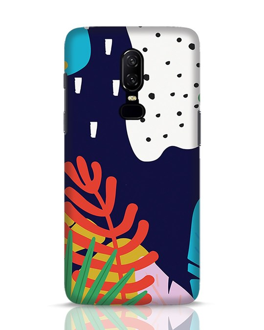 Shop Bright Tropics OnePlus 6 Mobile Cover-Front