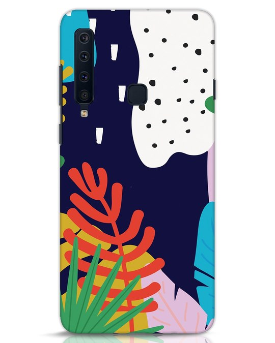 Shop Bright Tropics Samsung Galaxy A9 2018 Mobile Cover-Front