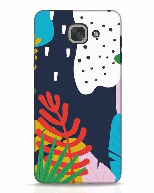 Shop Bright Tropics Samsung Galaxy J7 Max Mobile Cover-Front