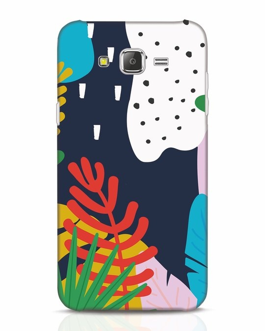 Shop Bright Tropics Samsung Galaxy J7 Mobile Cover-Front