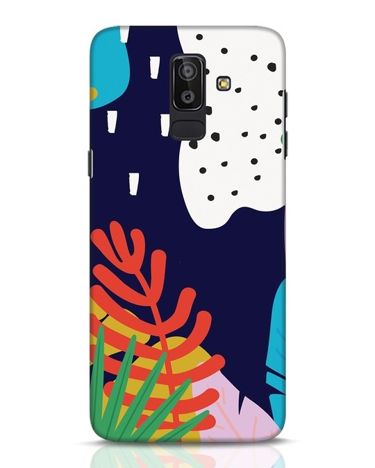 Shop Bright Tropics Samsung Galaxy J8 Mobile Cover-Front
