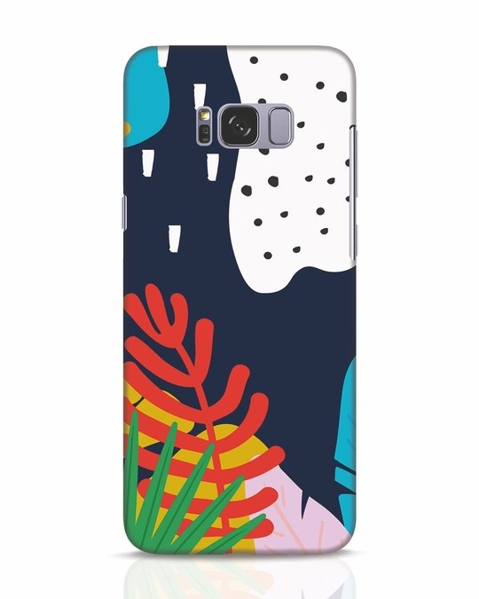 Shop Bright Tropics Samsung Galaxy S8 Mobile Cover-Front