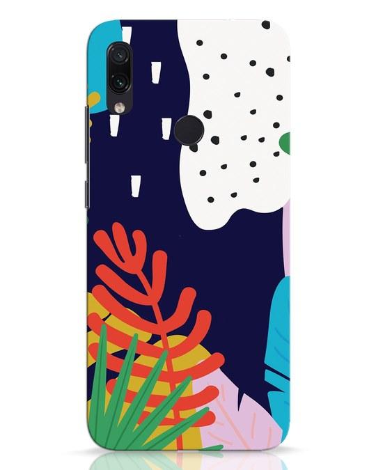 Shop Bright Tropics Xiaomi Redmi Note 7 Pro Mobile Cover-Front