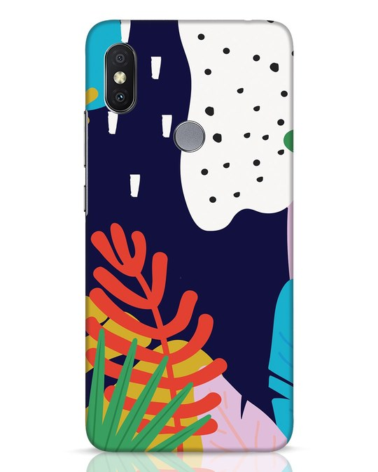 Shop Bright Tropics Xiaomi Redmi Y2 Mobile Cover-Front