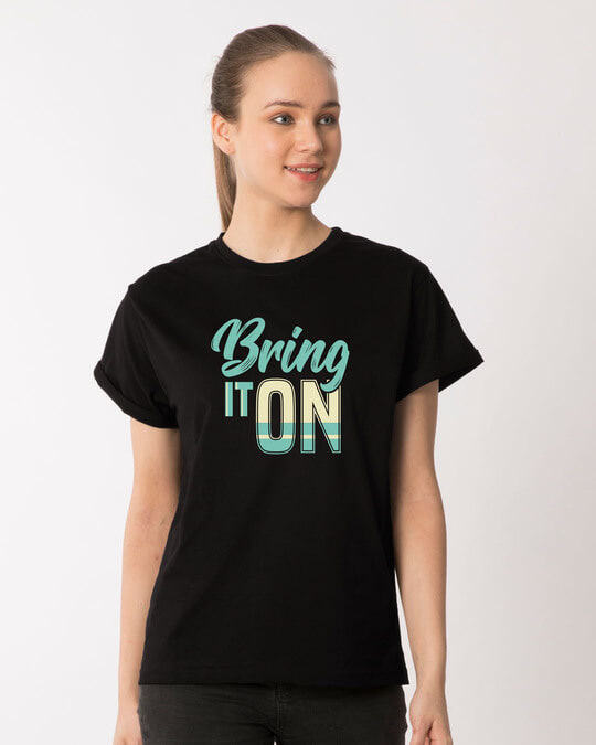 Shop Bring It New Boyfriend T-Shirt-Front