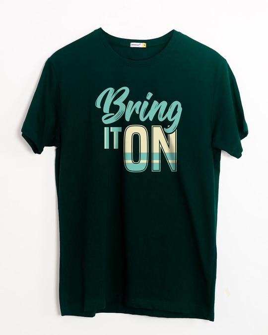 Shop Bring It New Half Sleeve T-Shirt-Front